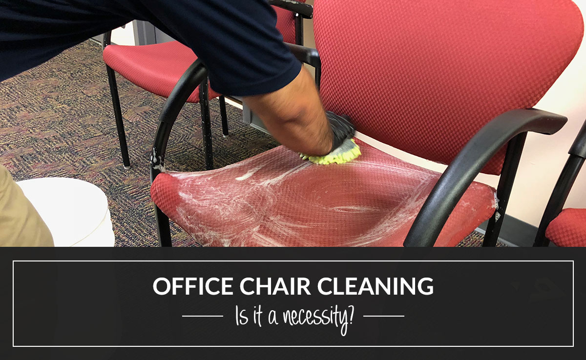 Office chair cleaning – is it a necessity?
